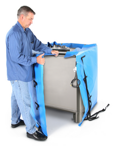freeze prevention for IBC Totes